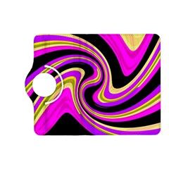 Pink and yellow Kindle Fire HD (2013) Flip 360 Case