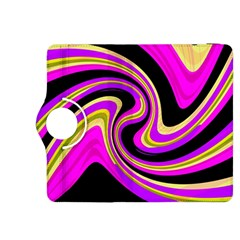 Pink and yellow Kindle Fire HDX 8.9  Flip 360 Case
