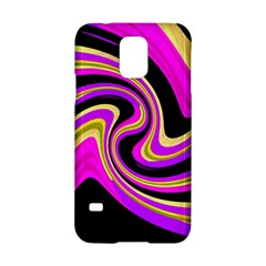 Pink and yellow Samsung Galaxy S5 Hardshell Case