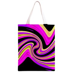 Pink and yellow Classic Light Tote Bag