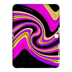 Pink and yellow Samsung Galaxy Tab 4 (10.1 ) Hardshell Case
