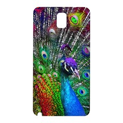 3d Peacock Pattern Samsung Galaxy Note 3 N9005 Hardshell Back Case