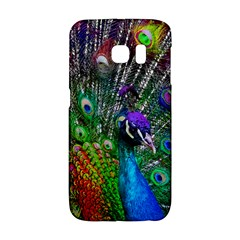 3d Peacock Pattern Galaxy S6 Edge
