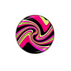 Magenta and yellow Hat Clip Ball Marker (4 pack)