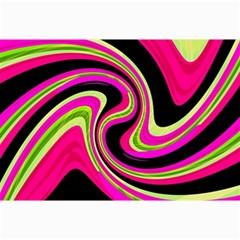 Magenta and yellow Collage Prints