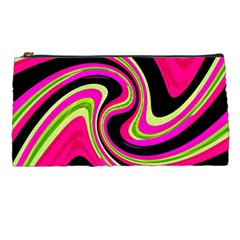 Magenta and yellow Pencil Cases