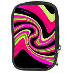 Magenta and yellow Compact Camera Cases