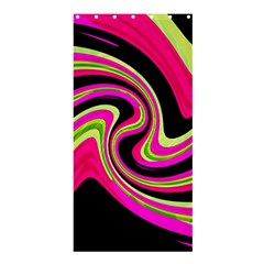 Magenta and yellow Shower Curtain 36  x 72  (Stall)