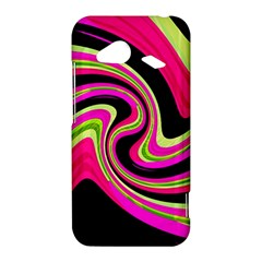 Magenta and yellow HTC Droid Incredible 4G LTE Hardshell Case