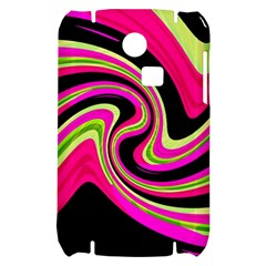 Magenta and yellow Samsung S3350 Hardshell Case