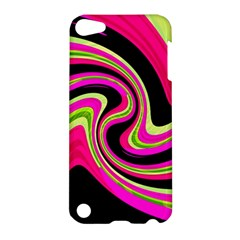 Magenta and yellow Apple iPod Touch 5 Hardshell Case