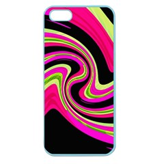 Magenta and yellow Apple Seamless iPhone 5 Case (Color)