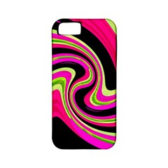 Magenta and yellow Apple iPhone 5 Classic Hardshell Case (PC+Silicone)
