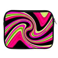 Magenta and yellow Apple iPad 2/3/4 Zipper Cases