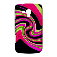 Magenta and yellow Samsung Galaxy Duos I8262 Hardshell Case