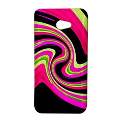 Magenta and yellow HTC Butterfly S/HTC 9060 Hardshell Case