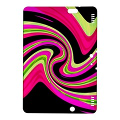 Magenta and yellow Kindle Fire HDX 8.9  Hardshell Case