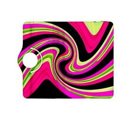 Magenta and yellow Kindle Fire HDX 8.9  Flip 360 Case