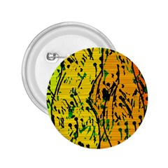 Gentle yellow abstract art 2.25  Buttons