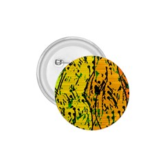 Gentle yellow abstract art 1.75  Buttons
