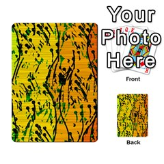 Gentle yellow abstract art Multi-purpose Cards (Rectangle)