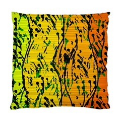 Gentle yellow abstract art Standard Cushion Case (Two Sides)