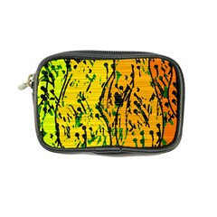 Gentle yellow abstract art Coin Purse