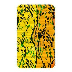 Gentle yellow abstract art Memory Card Reader