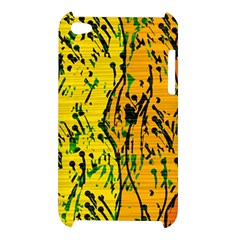 Gentle yellow abstract art Apple iPod Touch 4