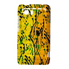 Gentle yellow abstract art HTC Vivid / Raider 4G Hardshell Case