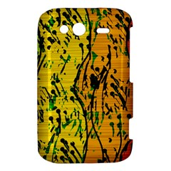 Gentle yellow abstract art HTC Wildfire S A510e Hardshell Case