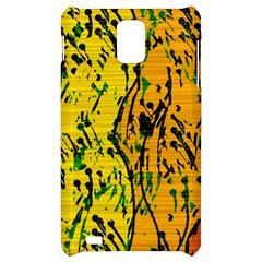 Gentle yellow abstract art Samsung Infuse 4G Hardshell Case