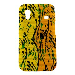 Gentle yellow abstract art Samsung Galaxy Ace S5830 Hardshell Case