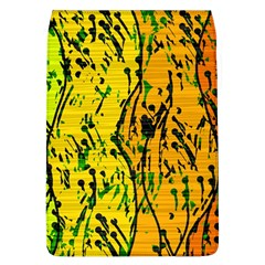 Gentle yellow abstract art Flap Covers (L)