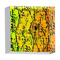 Gentle yellow abstract art 5  x 5  Acrylic Photo Blocks