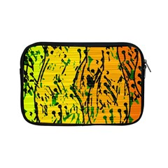 Gentle yellow abstract art Apple iPad Mini Zipper Cases
