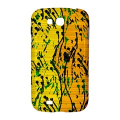 Gentle yellow abstract art Samsung Galaxy Grand GT-I9128 Hardshell Case