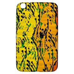 Gentle yellow abstract art Samsung Galaxy Tab 3 (8 ) T3100 Hardshell Case