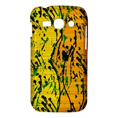 Gentle yellow abstract art Samsung Galaxy Ace 3 S7272 Hardshell Case