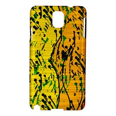 Gentle yellow abstract art Samsung Galaxy Note 3 N9005 Hardshell Case