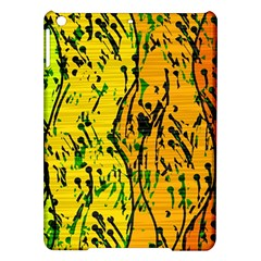 Gentle yellow abstract art iPad Air Hardshell Cases