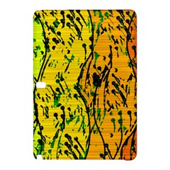 Gentle yellow abstract art Samsung Galaxy Tab Pro 10.1 Hardshell Case