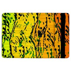 Gentle yellow abstract art iPad Air 2 Flip