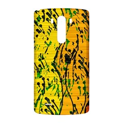 Gentle yellow abstract art LG G3 Back Case