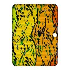 Gentle yellow abstract art Samsung Galaxy Tab 4 (10.1 ) Hardshell Case