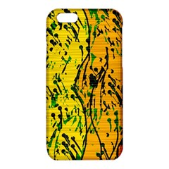Gentle yellow abstract art iPhone 6/6S TPU Case