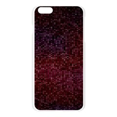3d Tiny Dots Pattern Texture Apple Seamless iPhone 6 Plus/6S Plus Case (Transparent)