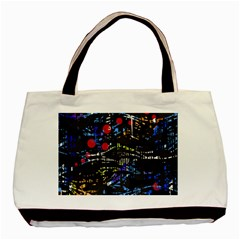 Blue confusion Basic Tote Bag
