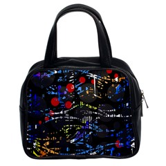 Blue confusion Classic Handbags (2 Sides)
