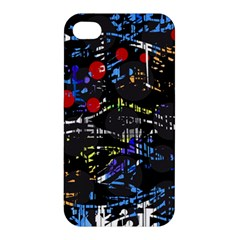Blue confusion Apple iPhone 4/4S Premium Hardshell Case